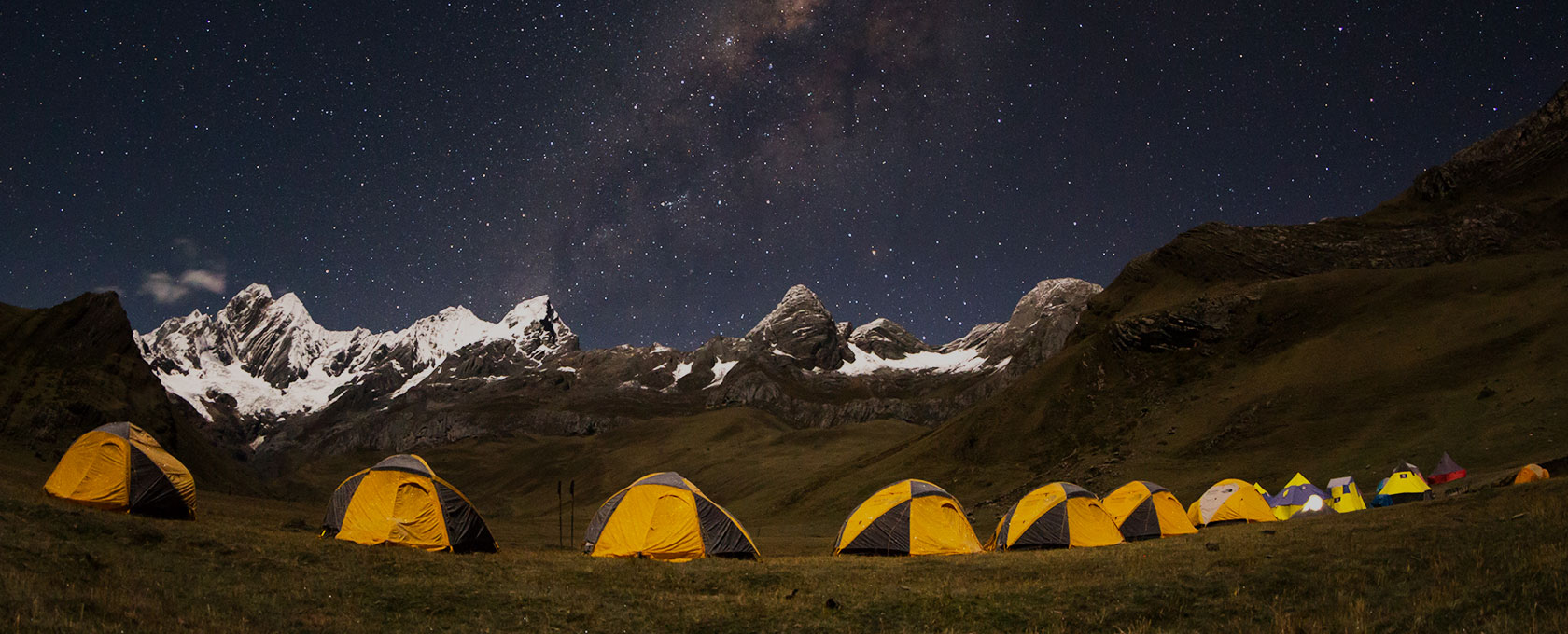 Magic Landscape Cordillera Huayhuash Adventure on two wheels - Circuit Yerupaja & Siula Grande, Peru